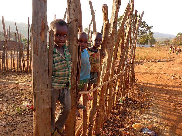 im Süden Äthiopiens