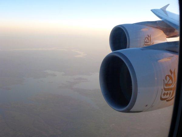 Flug in die Hitze - bei Ankunft über 40 Grad