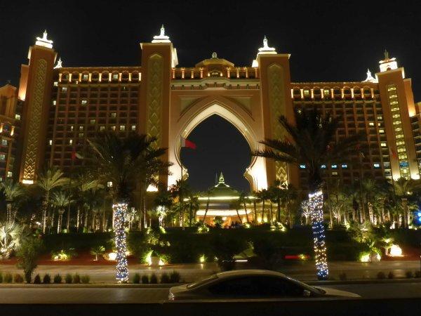 hier das Antlantis Hotel auf der Palm Island