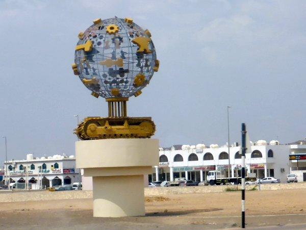Al Ain ist von Industriegebieten umgeben - viel Lebensmittelindustrie