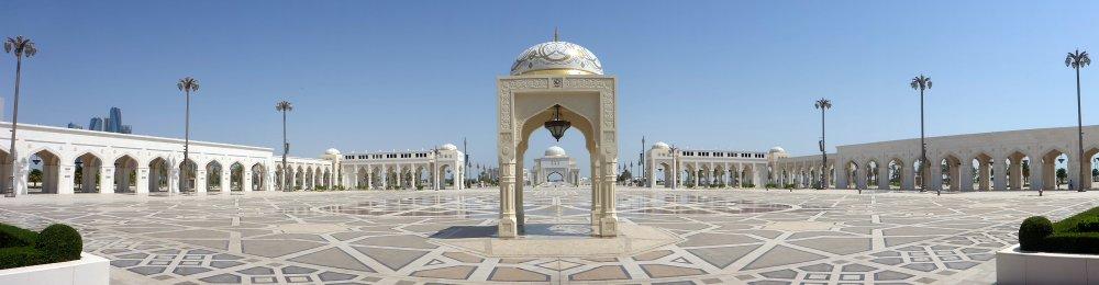 der Palast Quasar al Watan in Abu Dhabi