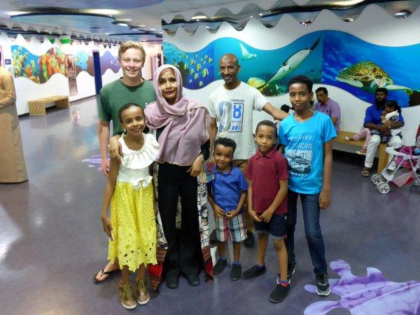 im Sharjah Aquarium